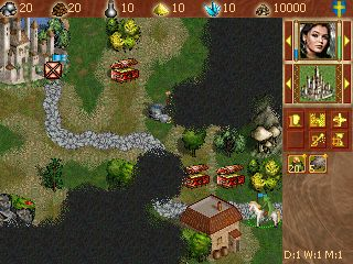 Epoche der Magie - Symbian-Spiel Screenshots. Spielszene Age of magic.