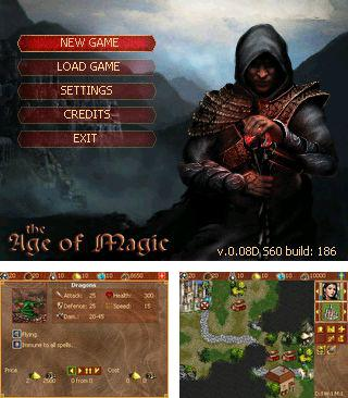 In addition to the sis game Thunder fox for Symbian phones, you can also download Age of magic for free.