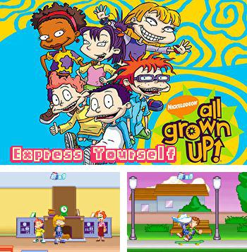 In addition to the sis game Bruce Lee: Return of the Legend for Symbian phones, you can also download All grown up: Express yourself for free.