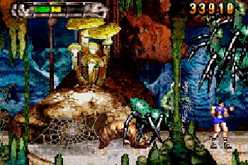 Altered beast: Wächter des Reiches - Symbian-Spiel Screenshots. Spielszene Altered beast: Guardian of the realms.