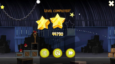 Angry birds Rio - Symbian game screenshots. Gameplay Angry birds Rio.