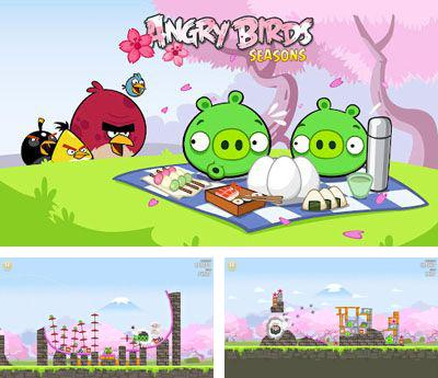 In addition to the sis game Take a Leak for Symbian phones, you can also download Angry Birds Seasons Cherry Blossom for free.