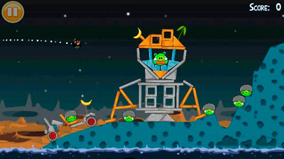 Angry Birds Seasons Summer Pignic - Symbian game screenshots. Gameplay Angry Birds Seasons Summer Pignic.