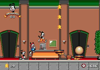 Animaniacs - Symbian-Spiel Screenshots. Spielszene Animaniacs.