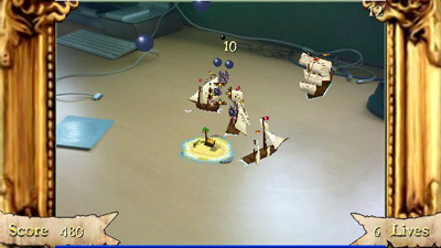 Play AR! Pirates for Symbian. Download top sis games for free.
