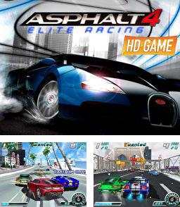 In addition to the sis game Tom Clancy's Splinter Cell: Pandora Tomorrow for Symbian phones, you can also download Asphalt 4 elite racing HD for free.