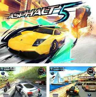In addition to the sis game Parking Mania 2 for Symbian phones, you can also download Asphalt 5 for free.