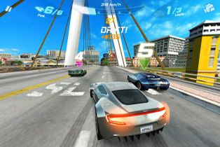 Play Asphalt 6 Adrenaline HD for Symbian. Download top sis games for free.