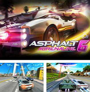 In addition to the sis game Brett Hull hockey 95 for Symbian phones, you can also download Asphalt 6 Adrenaline HD for free.
