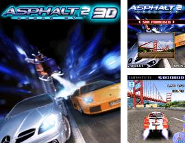In addition to the sis game Real football 2010 HD for Symbian phones, you can also download Asphalt Urban GT 2 3D for free.
