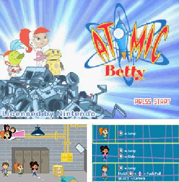 In addition to the sis game Tecmo super baseball for Symbian phones, you can also download Atomic Betty for free.