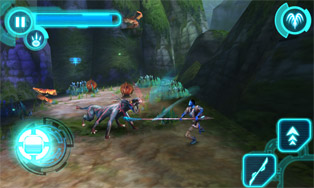 Avatar HD - Symbian game screenshots. Gameplay Avatar HD.