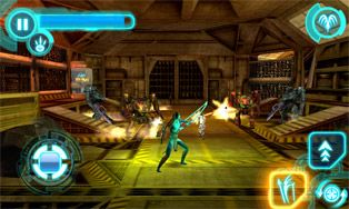 Avatar HD  - Screenshots do jogo para Symbian. Jogabilidade do Avatar HD.