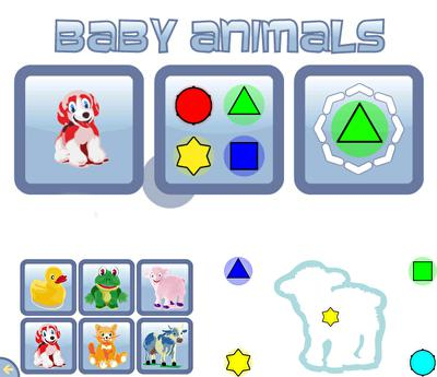 In addition to the sis game Ecco Jr. for Symbian phones, you can also download Baby Animals for free.