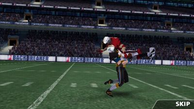 Backbreaker Football - Symbian game screenshots. Gameplay Backbreaker Football.