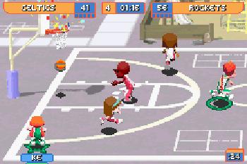 Backyard basketball - Symbian game. Backyard basketball ...