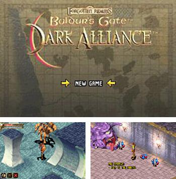 In addition to the sis game Sky force for Symbian phones, you can also download Baldur's Gate: Dark Alliance for free.