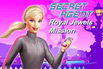 Barbie secret agent: Royal jewels mission