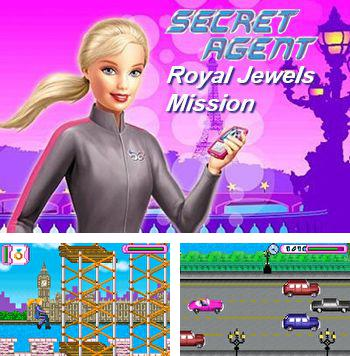 Zusätzlich zum sis-Spiel Diamanten Fangen für Symbian-Telefone können Sie auch kostenlos Barbie Geheimagent: Königliche Juwelen-MIssion, Barbie secret agent: Royal jewels mission herunterladen.