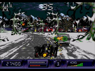 Batman Returns (Sega CD) - Symbian-Spiel Screenshots. Spielszene Batman returns (Sega CD).