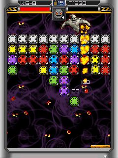 Finger Cutter Star - Symbian game screenshots. Gameplay Finger Cutter Star.