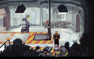 Beneath a Steel Sky download free Symbian game. Daily updates with the best sis games.
