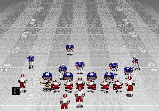 Le football américain avec Bill Walsh - Écrans du jeu Symbian. Gameplay Bill Walsh college football.