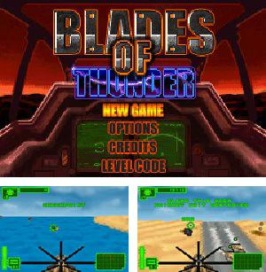 In addition to the sis game Jelly Wars for Symbian phones, you can also download Blades of Thunder for free.