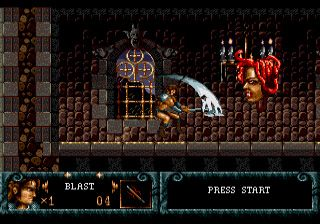 Blades of vengeance - Symbian game screenshots. Gameplay Blades of vengeance.
