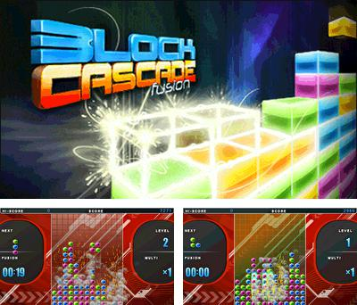 In addition to the sis game Saint sword for Symbian phones, you can also download Block Cascade Fusion for free.