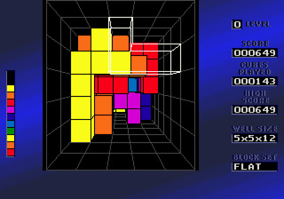 Blockout - Symbian game screenshots. Gameplay Blockout.