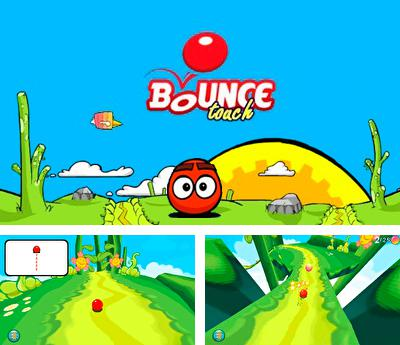 In addition to the sis game Smashing drive for Symbian phones, you can also download Bounce touch for free.