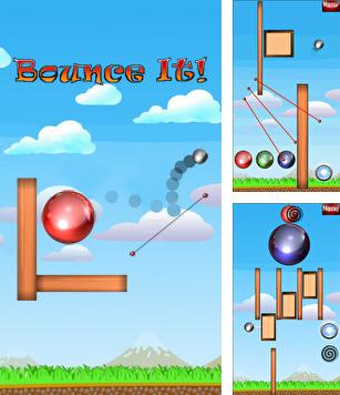 In addition to the sis game Frozen bubble for Symbian phones, you can also download Bounce It for free.