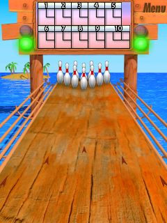 Bowling Master - Symbian game. Bowling Master sis download