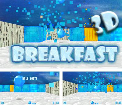 In addition to the sis game Excitebike for Symbian phones, you can also download Breakfast 3D for free.