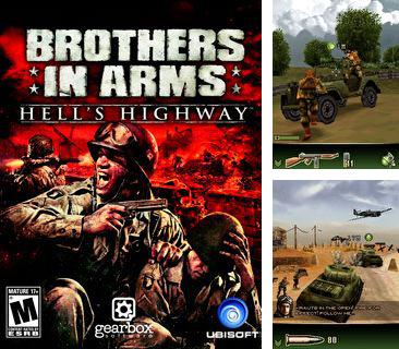 In addition to the sis game Rocket power: Zero gravity zone for Symbian phones, you can also download Brothers in arms 3 hell's highway for free.