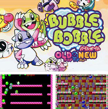 En plus du jeu sis Les Oeufs pour téléphones Symbian, vous pouvez aussi télécharger gratuitement Bubble Bobble:  Ancien et nouveau, Bubble Bobble: Old and New.