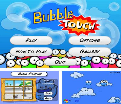 In addition to the sis game Defender for Symbian phones, you can also download BubbleTouch for free.