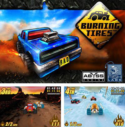 In addition to the sis game Clue for Symbian phones, you can also download Burning Tires 3D for free.