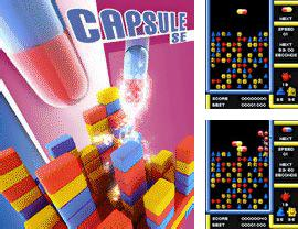 In addition to the sis game Castelian for Symbian phones, you can also download Capsule SE for free.