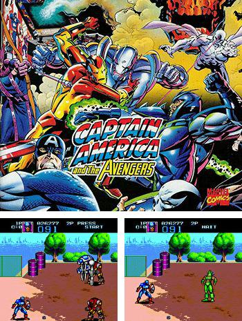 In addition to the sis game Toxic crusaders for Symbian phones, you can also download Captain America and the Avengers for free.