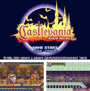 In addition to the sis game Nicky Boom for Symbian phones, you can also download Castlevania Aria of Sorrow for free.