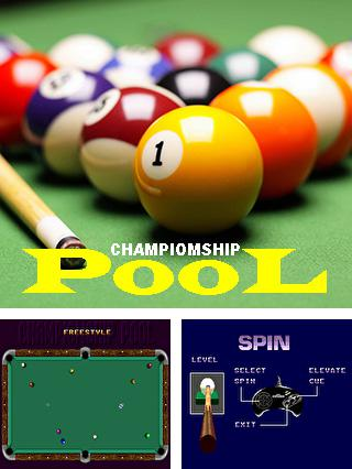 In addition to the sis game Base Wars for Symbian phones, you can also download Championship pool for free.