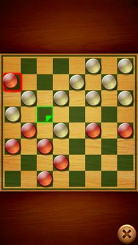 Checkers - Symbian game screenshots. Gameplay Checkers.