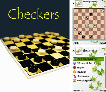 In addition to the sis game Spot goes to Hollywood for Symbian phones, you can also download Checkers for free.