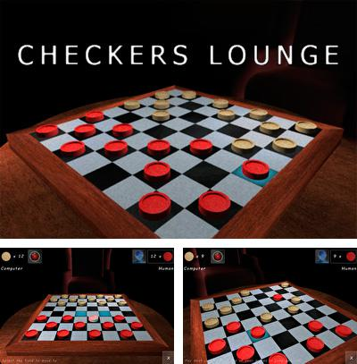 In addition to the sis game Snake Deluxe for Symbian phones, you can also download Checkers Lounge 3D for free.