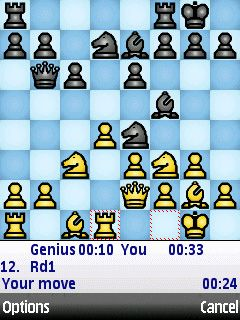 Chess Genius download free Symbian game. Daily updates with the best sis games.