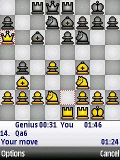 Play Chess Genius for Symbian. Download top sis games for free.