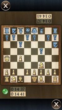 Chessboard touch - Symbian game screenshots. Gameplay Chessboard touch.