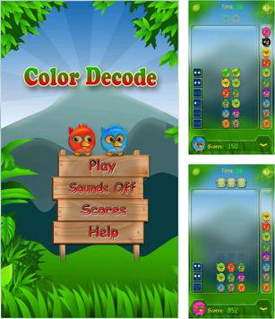 In addition to the sis game Grand Theft Auto Advance for Symbian phones, you can also download Color Decode for free.